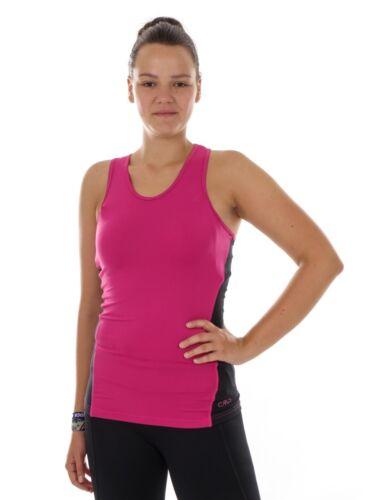 CMP Running Shirt Functional Top Top Tank Pink dryfunction Stretch