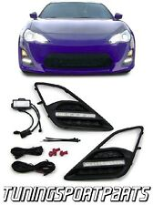 FRONT RUNNING LED LIGHTS FOR TOYOTA GT86 2012 FOG LIGHT GRILL NEW