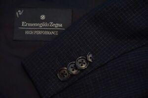 Ermenegildo-Zegna-High-Performance-Blue-Plaid-100-Wool-Sport-Coat-Jacket-46L