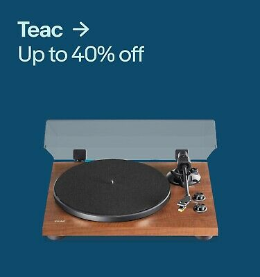 Teac Up to 40% off