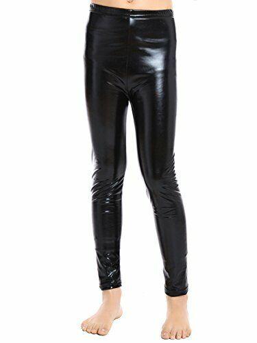 Aaronano Little Girls Metallic Color Shiny Stretch Leggings Size L5 6 Gold For Sale Online Ebay