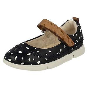 Niña Zapatos De Informal Cuero Clarks Molly ' Tri Uvafaxqw