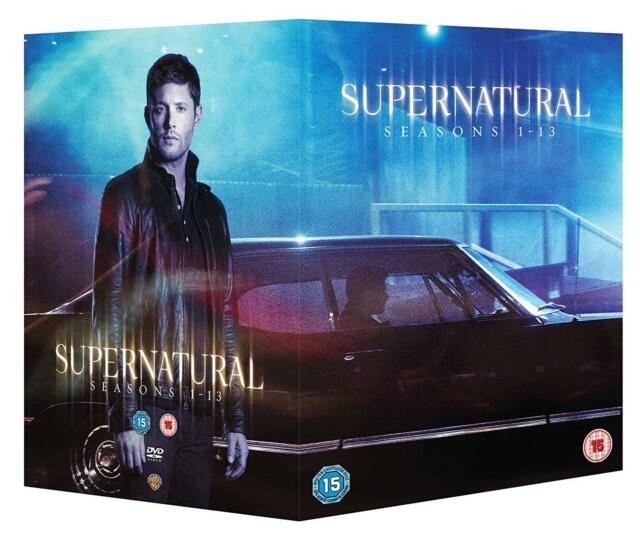 SUPERNATURAL Complete Seasons 1-13 DVD Boxset Region 4 (AUS) New & Sealed