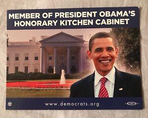 President Barack Obama Honorary Kitchen Cabinet Magnet Ebay