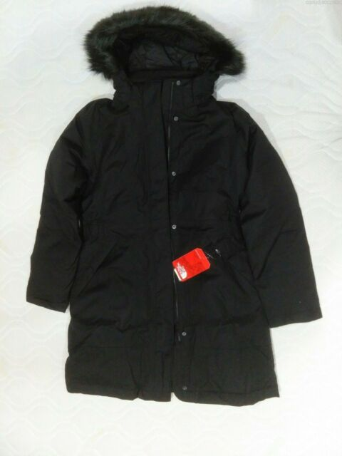 fe3d53186 Womens The North Face Arctic Parka 550 Fill Down Jacket TNF Black M