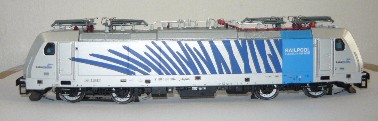 Acme 65405 Ellok 186 106  Zebra  the Bls Cargo, H0, AC, Ep.6, neu&ovp