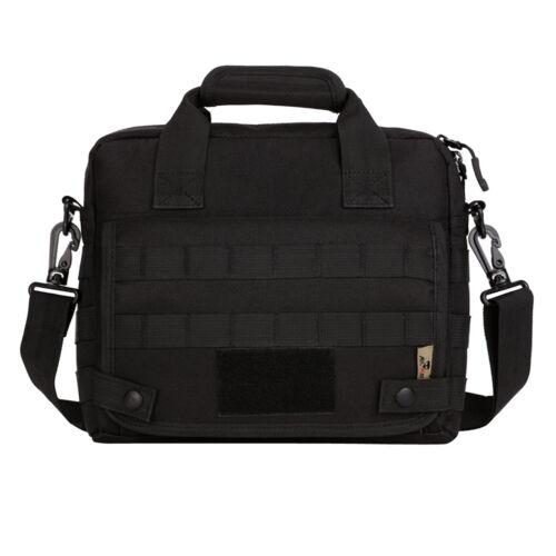 """Men/'s Tactical Nylon Shoulder Messenger Bag Handbag Briefcase for 10/"""" Laptop"""