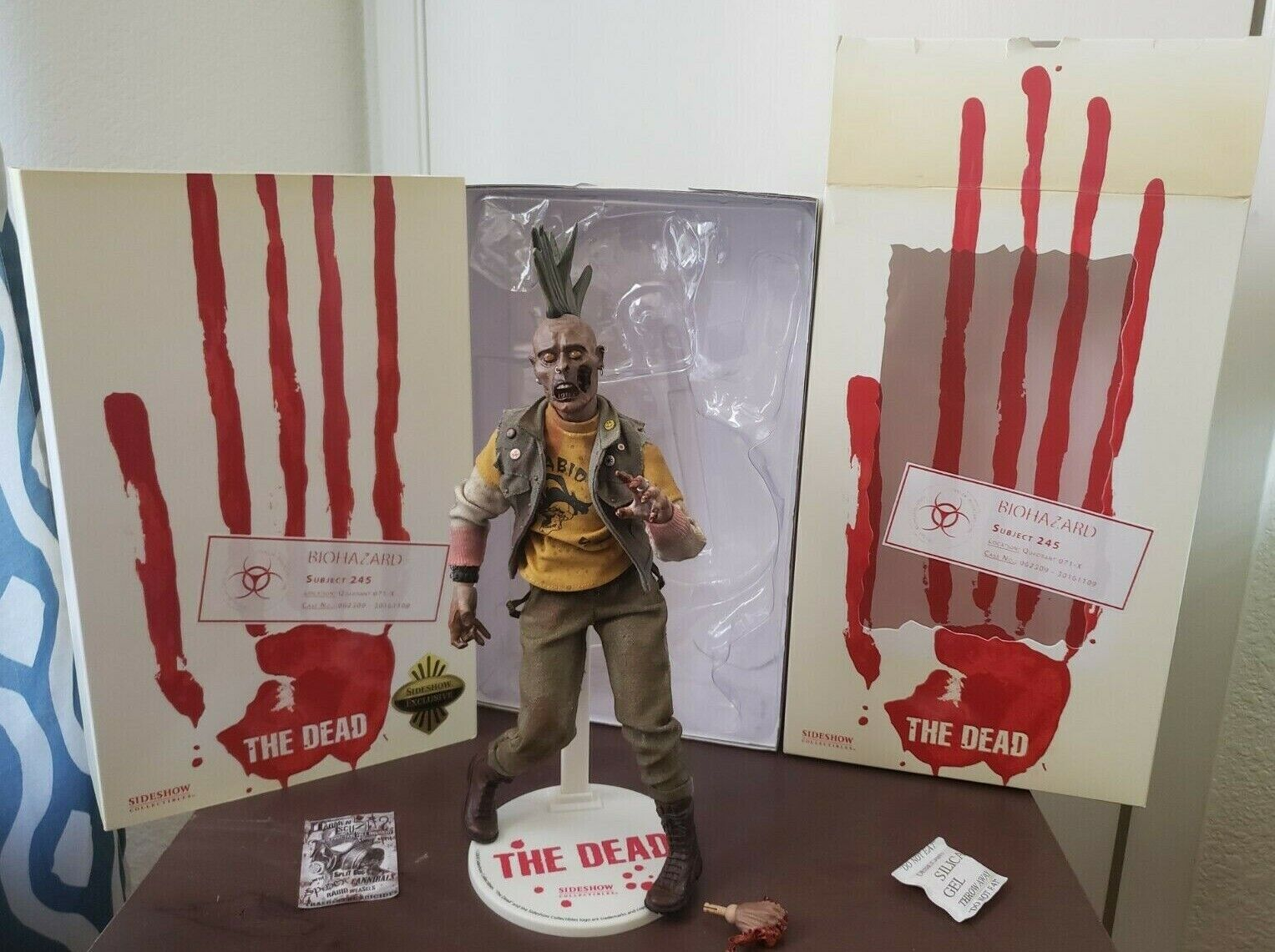 Sideshow Exclusive 1/6 Biohazard Subject 245 Dead Punk 30161 FREE SHIPPING on eBay thumbnail