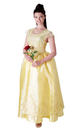 Beauty and the Beast Adults Fancy Dress Disney Princess Live Action Costumes New