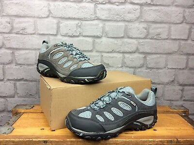 MERRELL LADIES UK 4 EU 37 GREY PURPLE AZURA TURBULENCE WALKING SHOES RRP £80