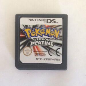 POKEMON VERSION PLATINE Nintendo DS, envoi le jour même