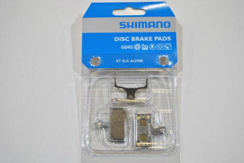 Pastiglie Freni a Disco SHIMANO BR-M8000 XT SLX ALFINE Metal G04S//DISC BRAKE PAD