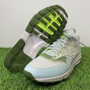 Details about Nike Air Max 1 Ultra 2.0 SI White/Baby Blue/Green 881103-101 Women's Size 6