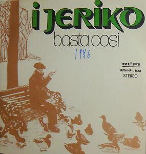 I-JERIKO-TU-BAMBINA-IO-BAMBINO-7-034-BASTA-COSI-ITALIAN-PROG-1976