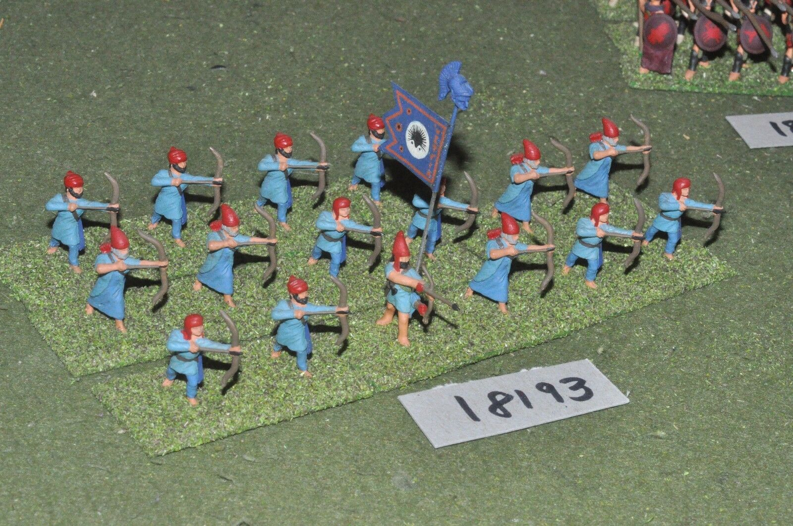 25mm classical   persian - ancient archers - inf (18193)