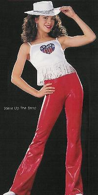 Clearance Extremely Lg. Quan! Dance Costume Cowboy STRIKE BAND Child Sm & Adult