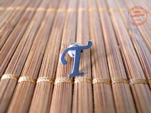 1pz Orecchini Letterina Nomi Stainless steel Donna Alfabeto Iniziale Top Quality