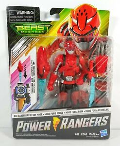 "Power Rangers Saban/'s Beast Morphers 5/"" Action Figures Morph X-Key Hasbro"