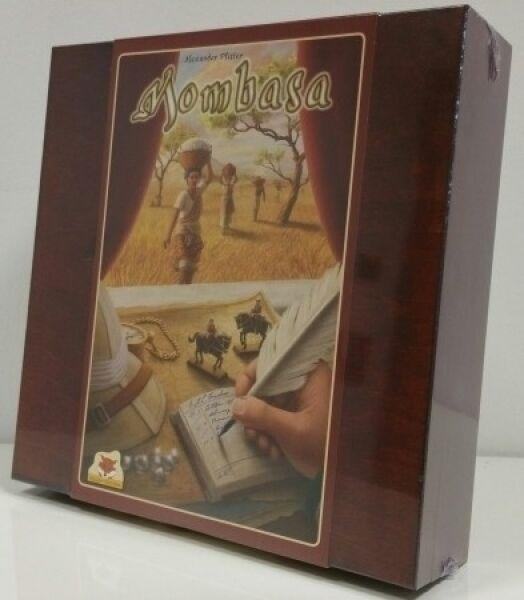 Mombasa caja de madera especial Edition --   nuevo y en su embalaje original   -- Deutscher juegos precio 2016