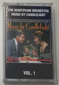 The Mantovani Orchestra Music By Candlelight Vol 1 Cassette Tape 1993 Elap Music