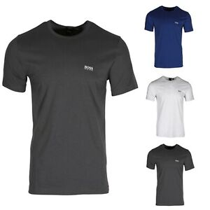 f2755a07338246 HUGO BOSS Tee Men's Crew Neck T-shirt With Shoulder Print 50399333 ...