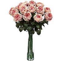 Silk 31-inch Rose Flower Arrangement