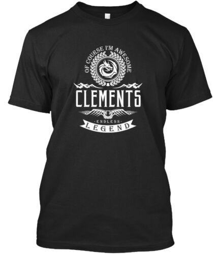 Clements Endless Legend Standard Unisex T-shirt