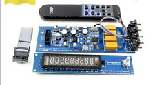 Assembeld PGA2311U remote preamp board with VFD display 4 ways input