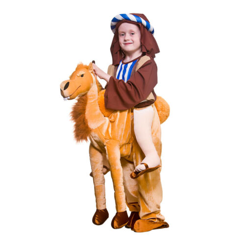 Child Deluxe Ride On Camel Costume Christmas Nativity Wise Man Fancy Dress