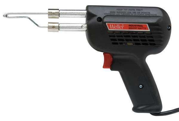 Solder Gun,300/200 Watts,120v WELLER D650