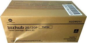 NIB-Genuine-Konica-Minolta-TNP24-A32W011-Black-Toner-Cartridge-Bizhub-20-20P
