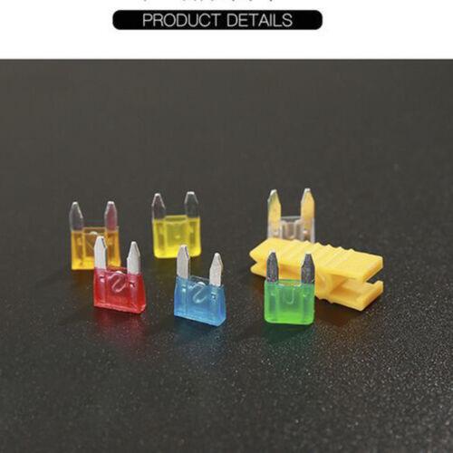 120Pcs//Set Assorted Car Automotive Boat Truck Mini Blade Fuse Assortment Kit