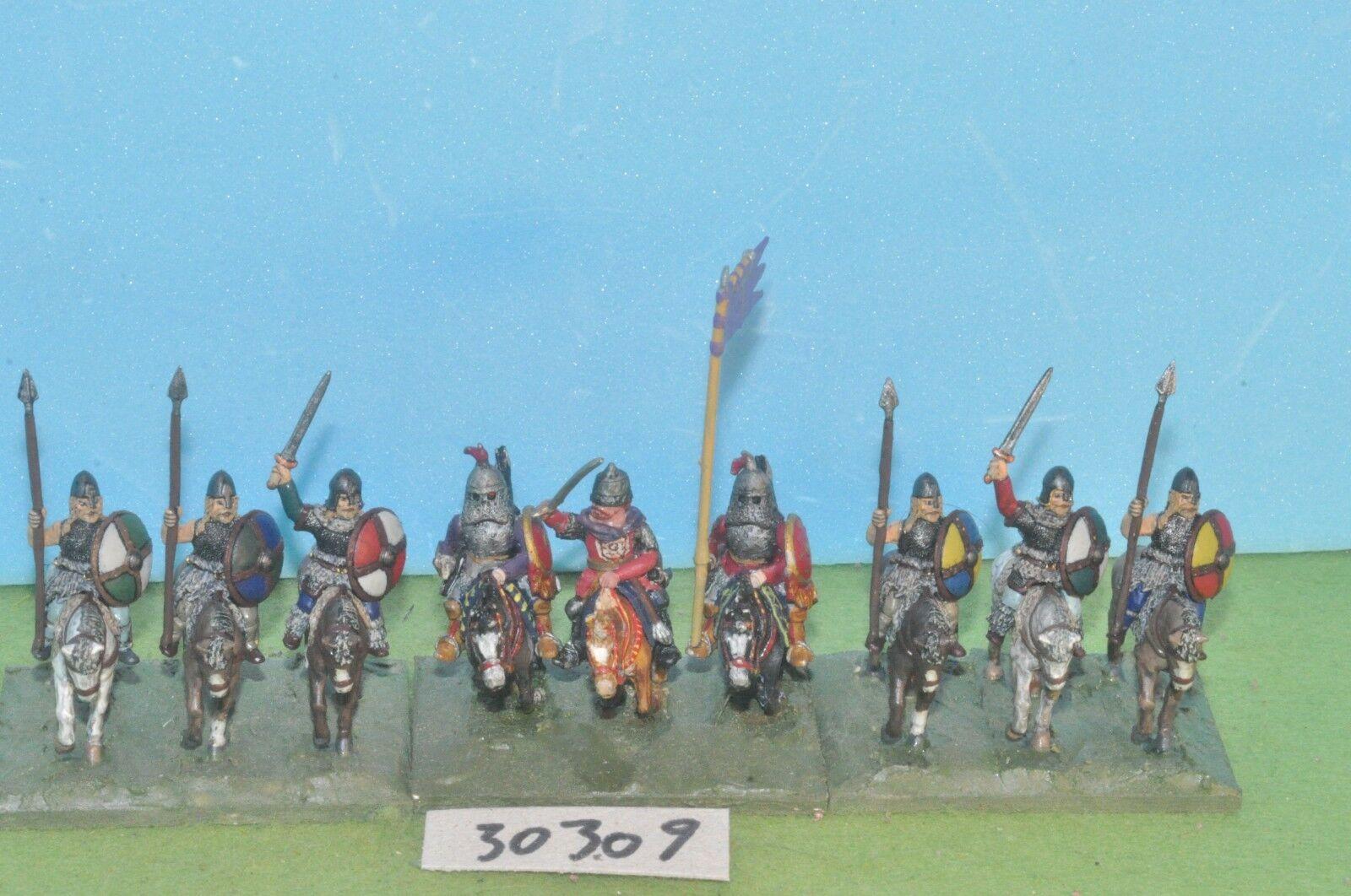 Fantasy viking horsemen 9 metal warhammer sigmar (30309)