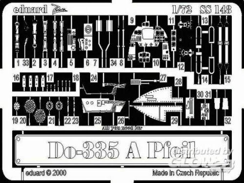 Eduard Accessories SS148 Ätzsätze Luftfahrt Do-335 A Pfeil