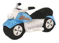 Harley-davidson Kid's Sound & Lights Motorcycle, Blue 20008-blue