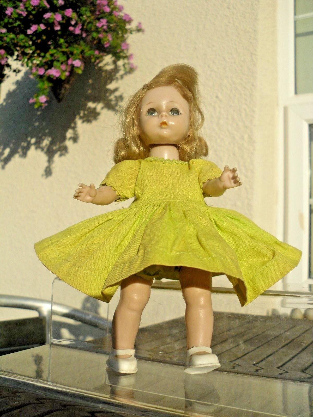 Early 1950's Madame Alexander-kins Alex Alex Alex Straight Leg Walker Doll 8 inch b83300