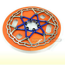 180mm ! RED with aluminum bolts The Lightest ASHIMA AiNEON Disc Rotor 88g