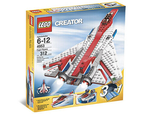 NEW Lego Creator Airport 4953 Fast Flyers Nuovo Sealed