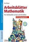 Arbeitsblätter Mathematik 9./10. Jahrgangsstufe von Ilse Mayer (2008, Taschenbuch)