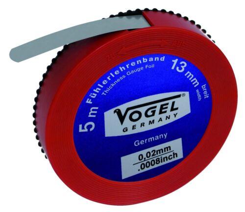 455004  Fühlerlehrenband 0,04mm 5 Meter  NEU VOGEL