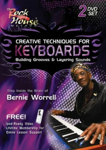 Bernie Worrell of Parliament Building Grooves /& Layering Sounds NEW 014007777
