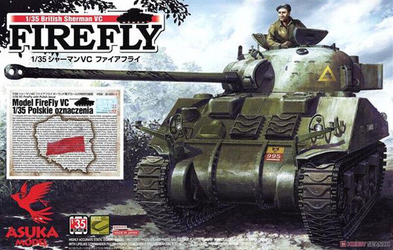 Asuka 35009S-A British Sherman VC Firefly + Polish markings scale 1 35