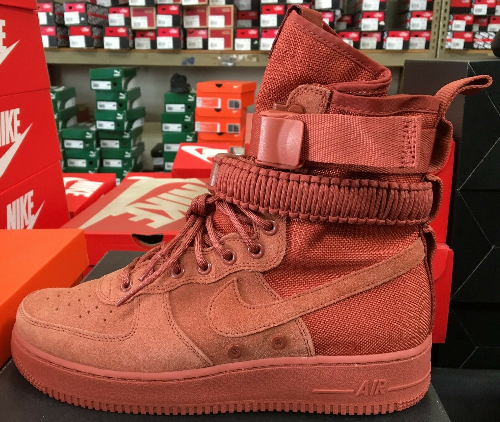 Nike SF Air Force 1 AF1 Men Basketball Casual sneakers dusty peach 864024 204  K