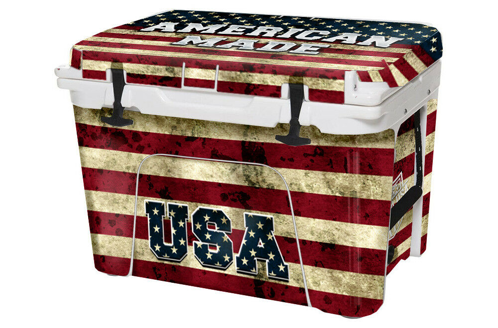 USATuff Custom Cooler Decal Wrap fits 65qt YETI Tundra 65qt fits FULL American Made 1c6dcf