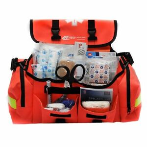 Details About Trauma Bag First Aid Medical Emergency Supplies Kit Rescue Equipment Emt Ems New