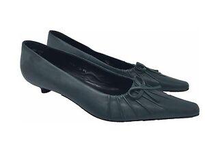 Peko Damen Schuhe grün Leder Gr.5 38 (201407)