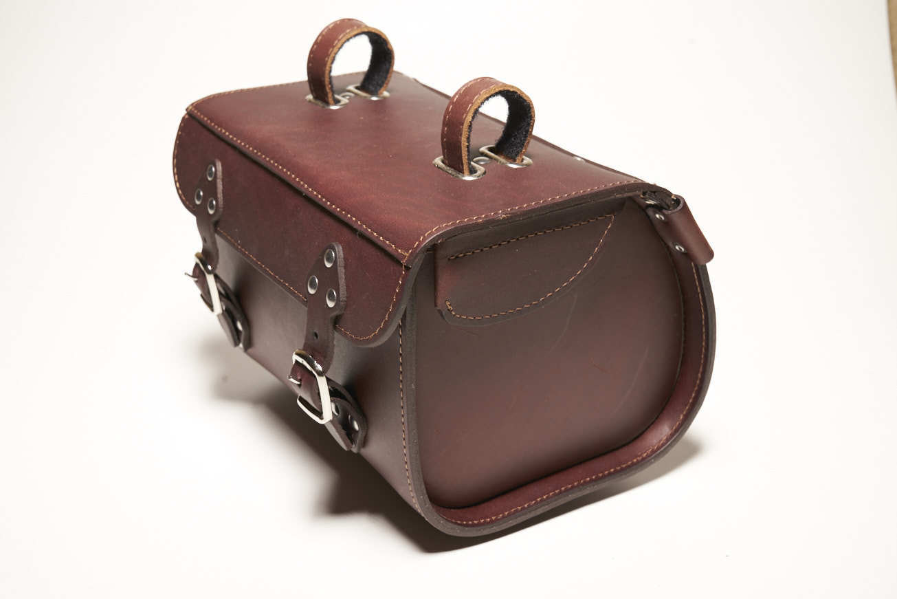 Leather  handlebar case for bicycles and scooters  free shipping!
