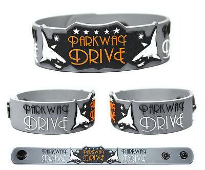 PARKWAY DRIVE Rubber Bracelet Wristband Atlas Deep Blue Horizons