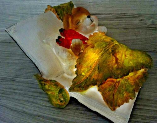 Bed TABLE DECORATION Cute Decorative Figurine Illuminated STAND FIGURE 14 x 11 cm Rabbit I
