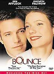 Bounce DVD, 2001, 2-Disc Set  - $1.50